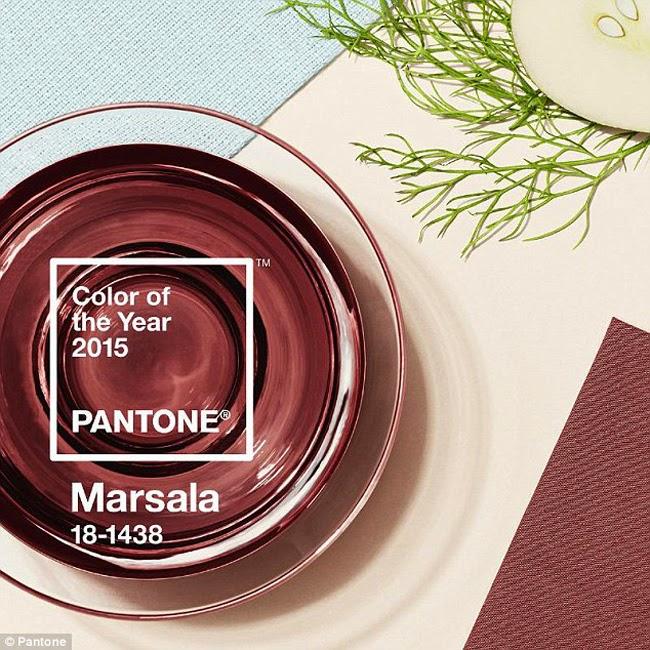 Marsala Pantone