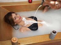 femei relaxare baie