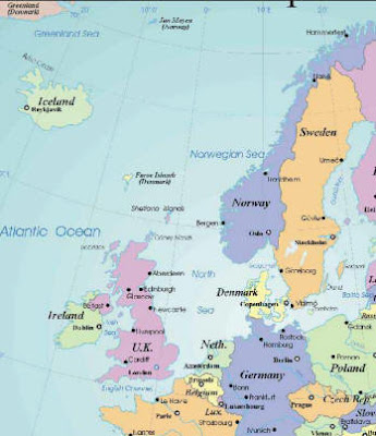 Maps of Northern Europe
