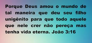 """"""" Aceite Jesus como  único Salvador """""""