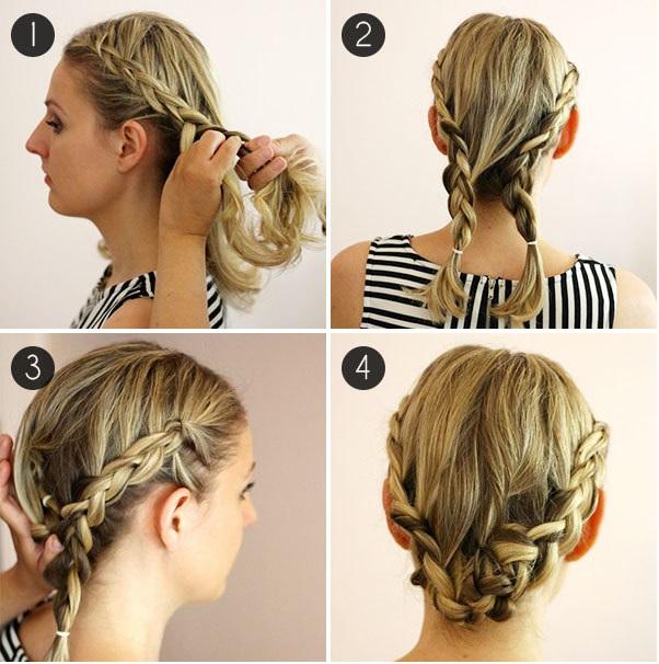 Peinados Muy Faciles Y Bonitos - Más de 1000 ideas sobre Peinados Faciles Y Lindos en Pinterest