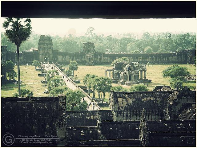 Photograph Cambodia Angor Wat