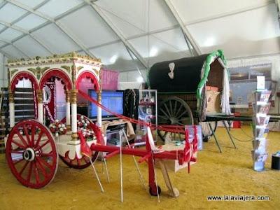 Carros Rocieros Linceo Feria Turismo Donana