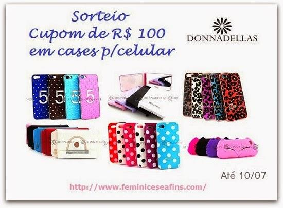 Sorteio Voucher Donna Dellas
