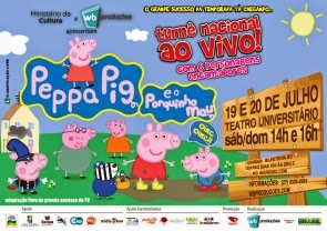 Peppa Pig em Vitória - ES - 2014