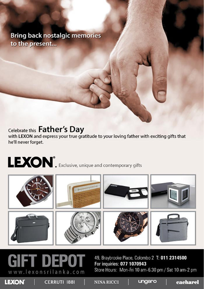 Bring back nostalgic memories this Father's Day.