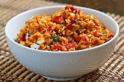 The cleansing diet of red rice