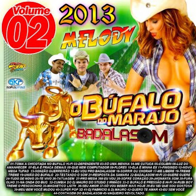 CD O BÚFALO DO MARAJÓ VOL_02_2013 - BADALASOM