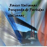Partidas de documentos italia argentina