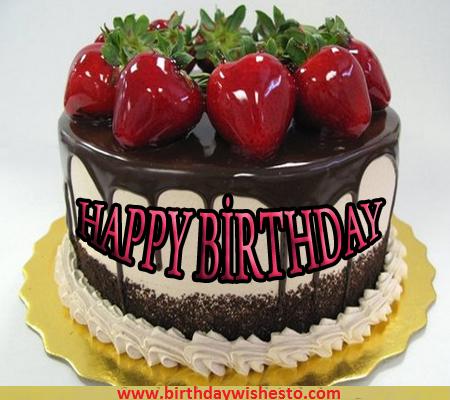 Apple Cream Birthday Cakes