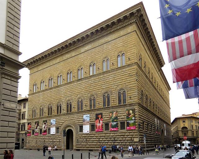 Palazzo Strozzi, piazza Strozzi, Florence