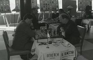 Partida de ajedrez Gereben - Ulvestad en el II Torneo Costa del Sol de 1962