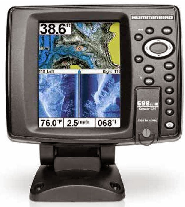 combiné sondeur GPS, side imaging