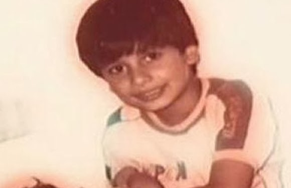 childhood rare photos of shahid kapoor