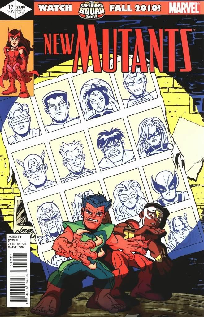 New Mutants Homenaje Uncanny X-Men 141