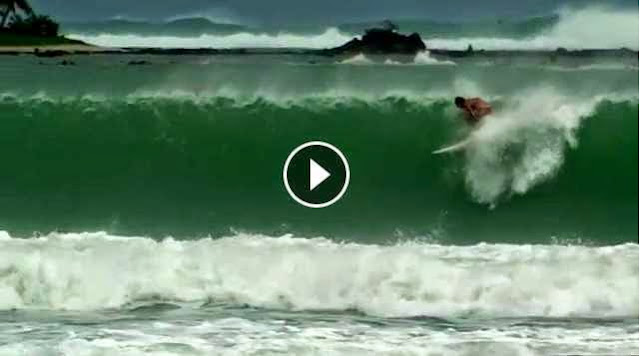 Surfing Nias How Good is a Nias Wipe Out