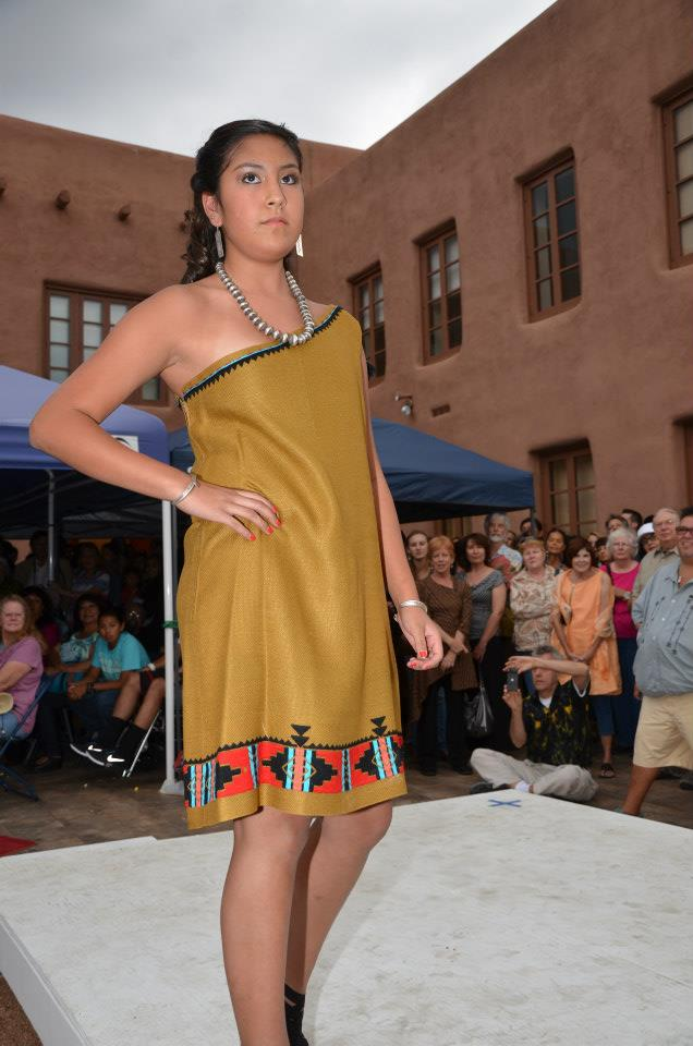 Several established and cutting edge native american fashion designers