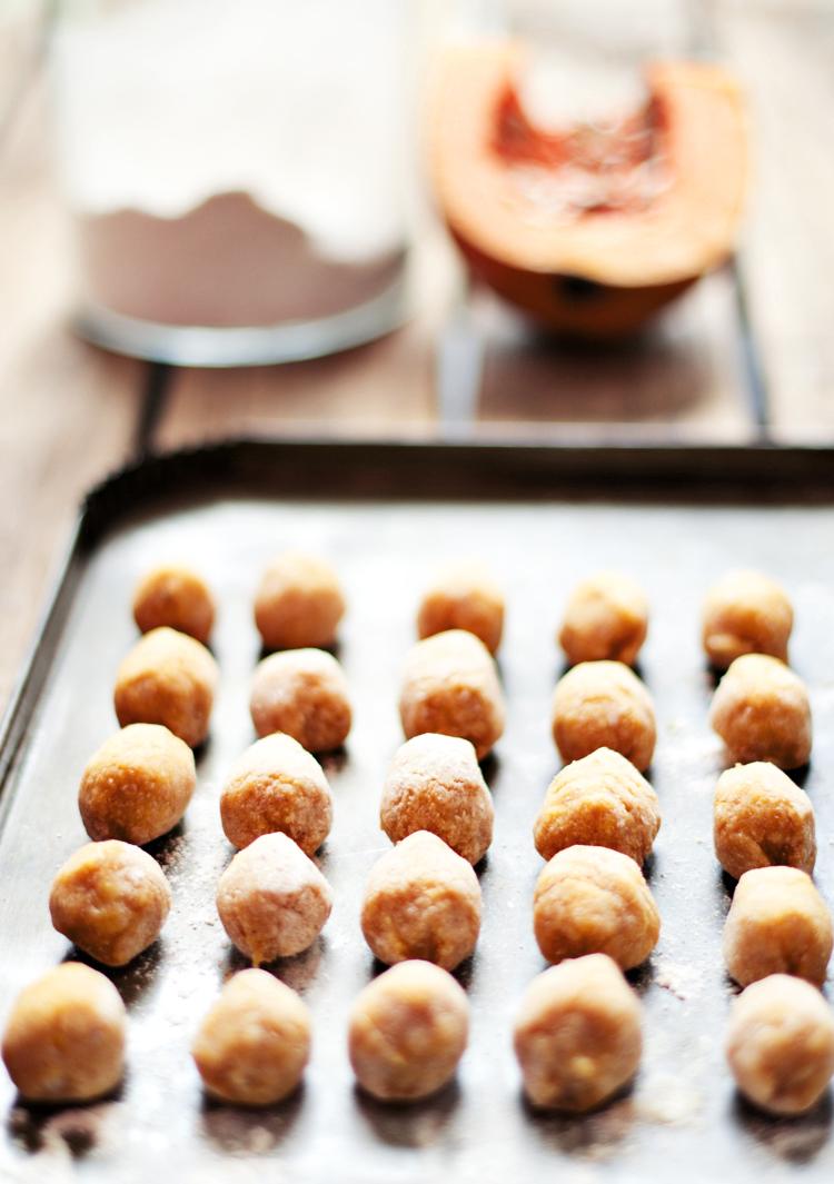 receta de gnocchi de calabaza integrales