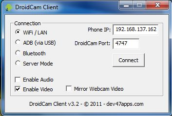 Cara Setting WebCam dan IP Cam di Android