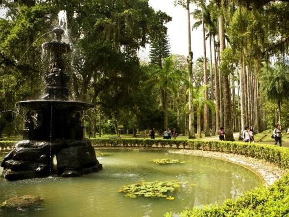 fotos jardim botanico do rio de janeiro:Este Jardim está entre os 14 mais belos jardins do mundo.