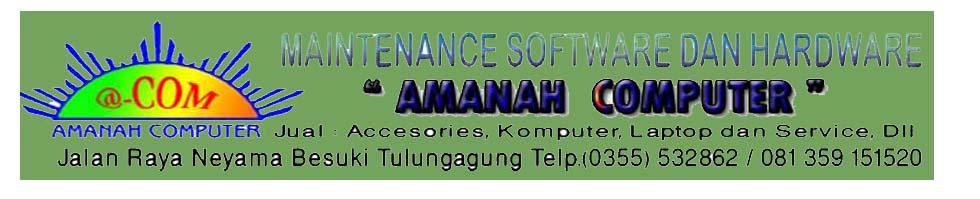 AMANAH COMPUTER (BESUKI-TULUNGAGUNG)