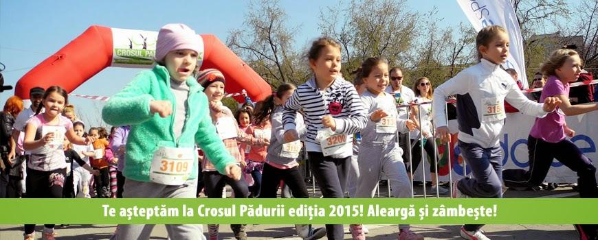Invitaţie la Crosul Padurii, 28 Martie 2015, Parcul Tineretului, Bucureşti, Copii