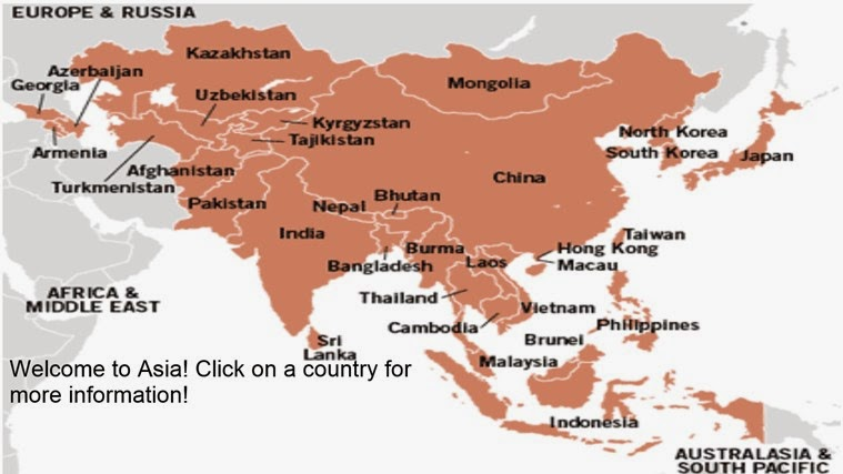 Asian countries capitals