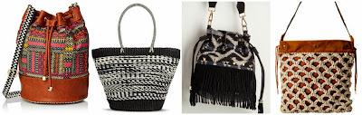 Lulu Woven Bucket Bag $22.40 (regular $32.00)  Merona Woven Straw Tote Handbag $34.99 spend $50 and save $10  NuG Adventure Awaits Bag $49.99  Lucky Brand Rivera Slim Hobo $49.99 (regular $118.00)