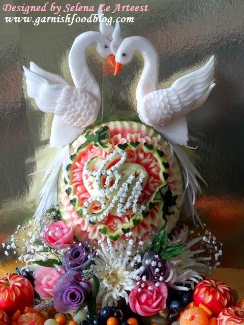 fruit decoration for wedding