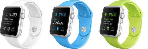 The Apple watch Sport