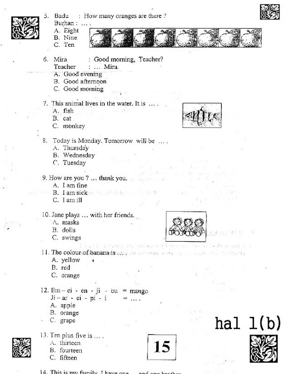 UUB  english 1 (hal 1b)