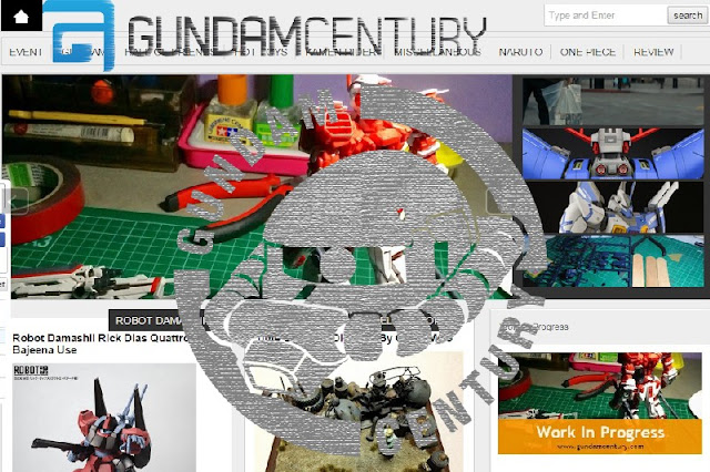 Gundam Century blog and news
