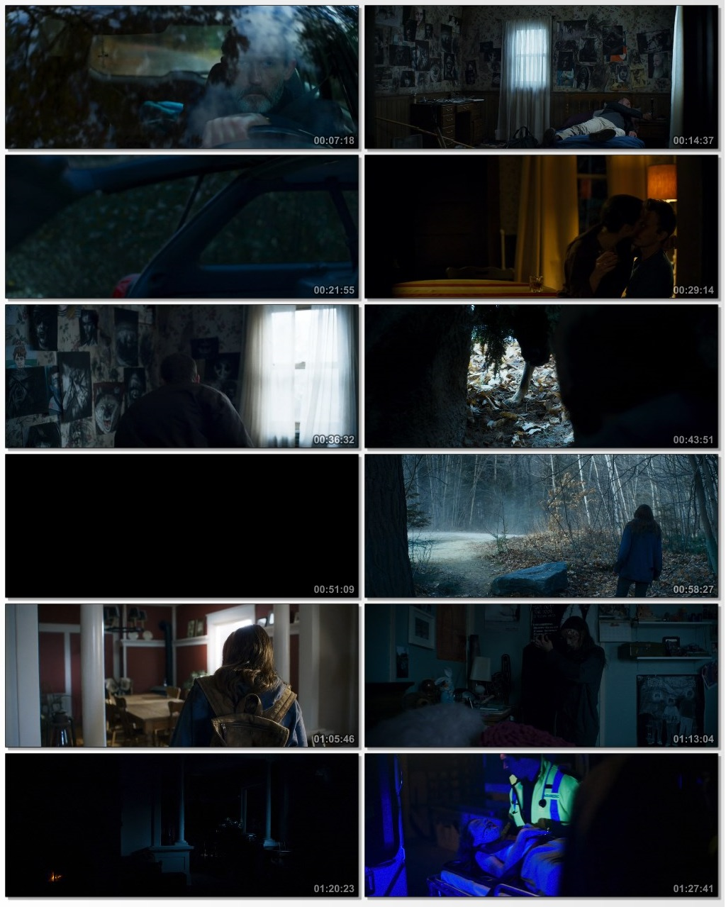 Screen Shot Of The Dark 2018 Full Movie Download Free Watch Online 300MB