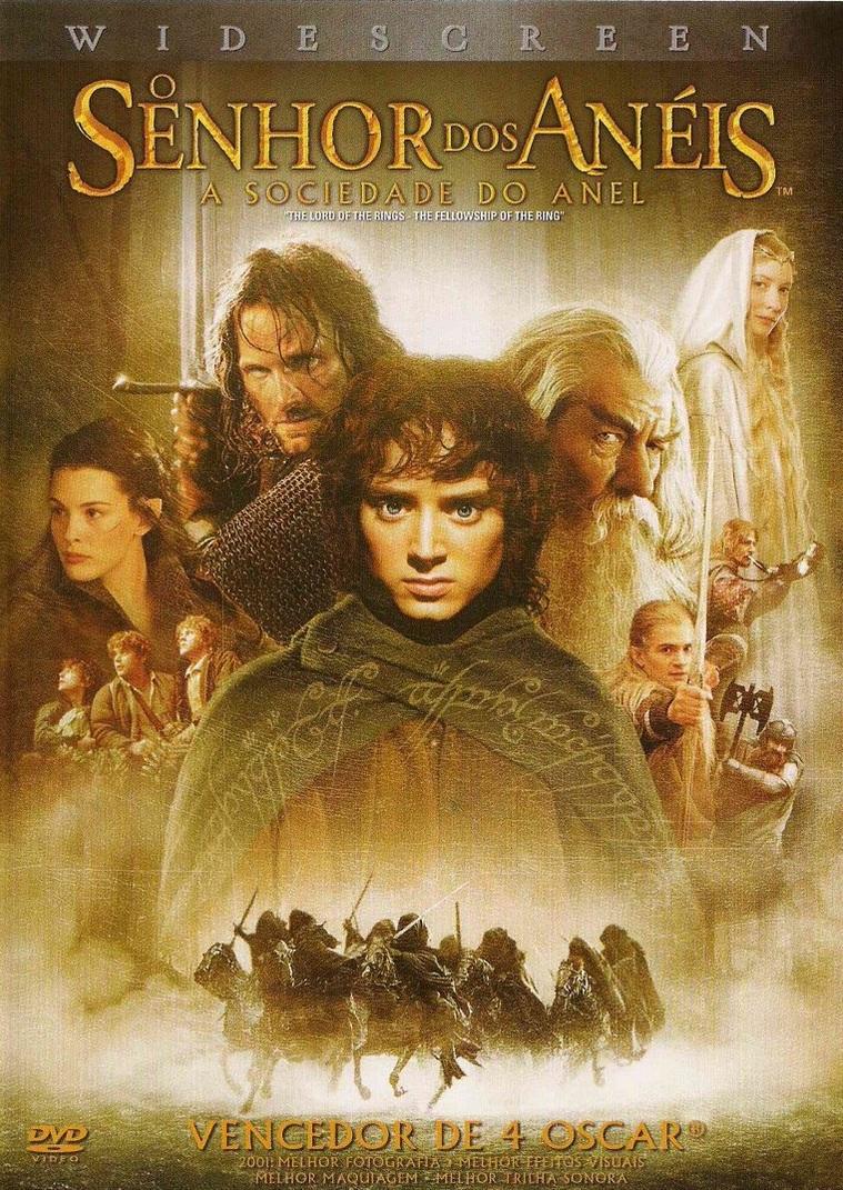 O Senhor dos Anéis: A Sociedade do Anel – Dublado (2001)
