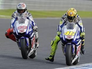 Duel Lorenzo vs Rossi