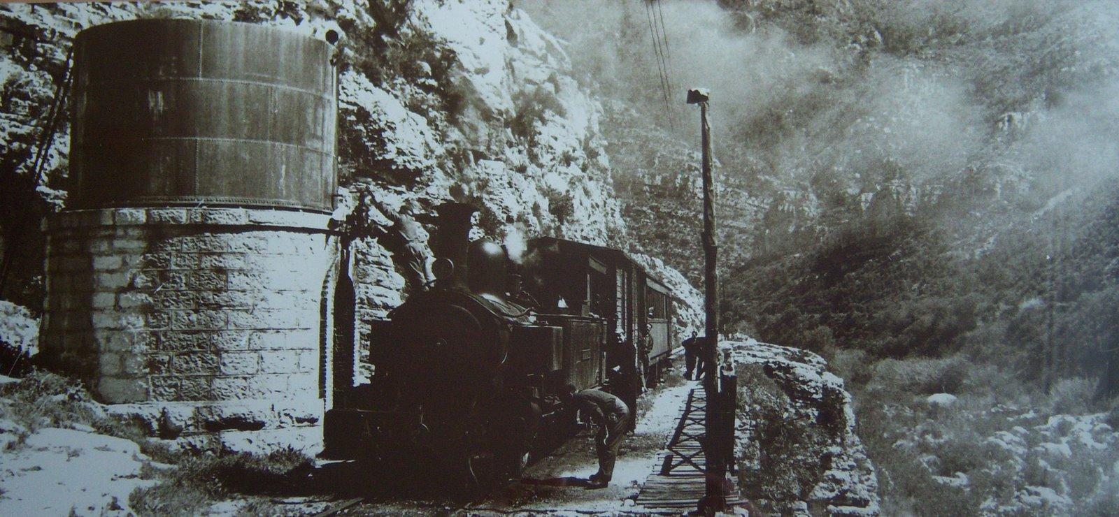 Foto de l'últim recorregut, amb la qual Crespo Colomer va guanyar el primer Premi Nacional de Fotografia de Trens de Vapor en 1972