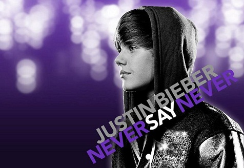justin bieber never say never wallpaper 2011. justin bieber never say