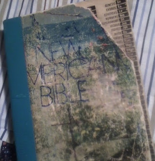 My beat-up Bible
