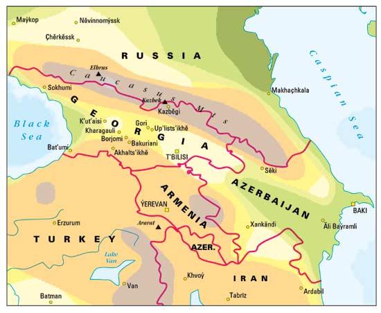 Edn 591 Gr International Affairs The Caucasus People