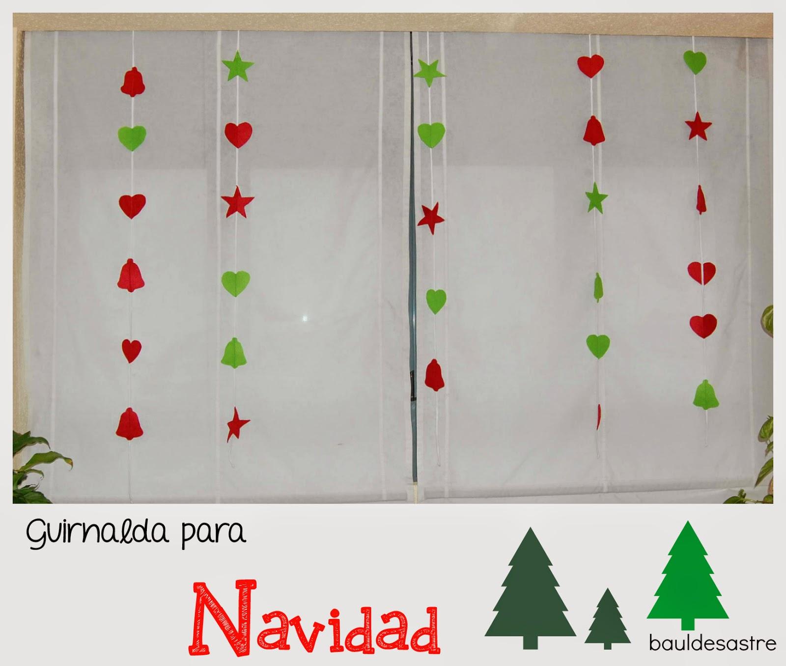 DIY Guirnalda de Navidad