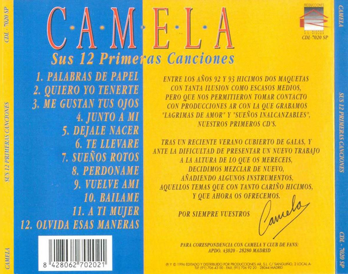 camela canciones: