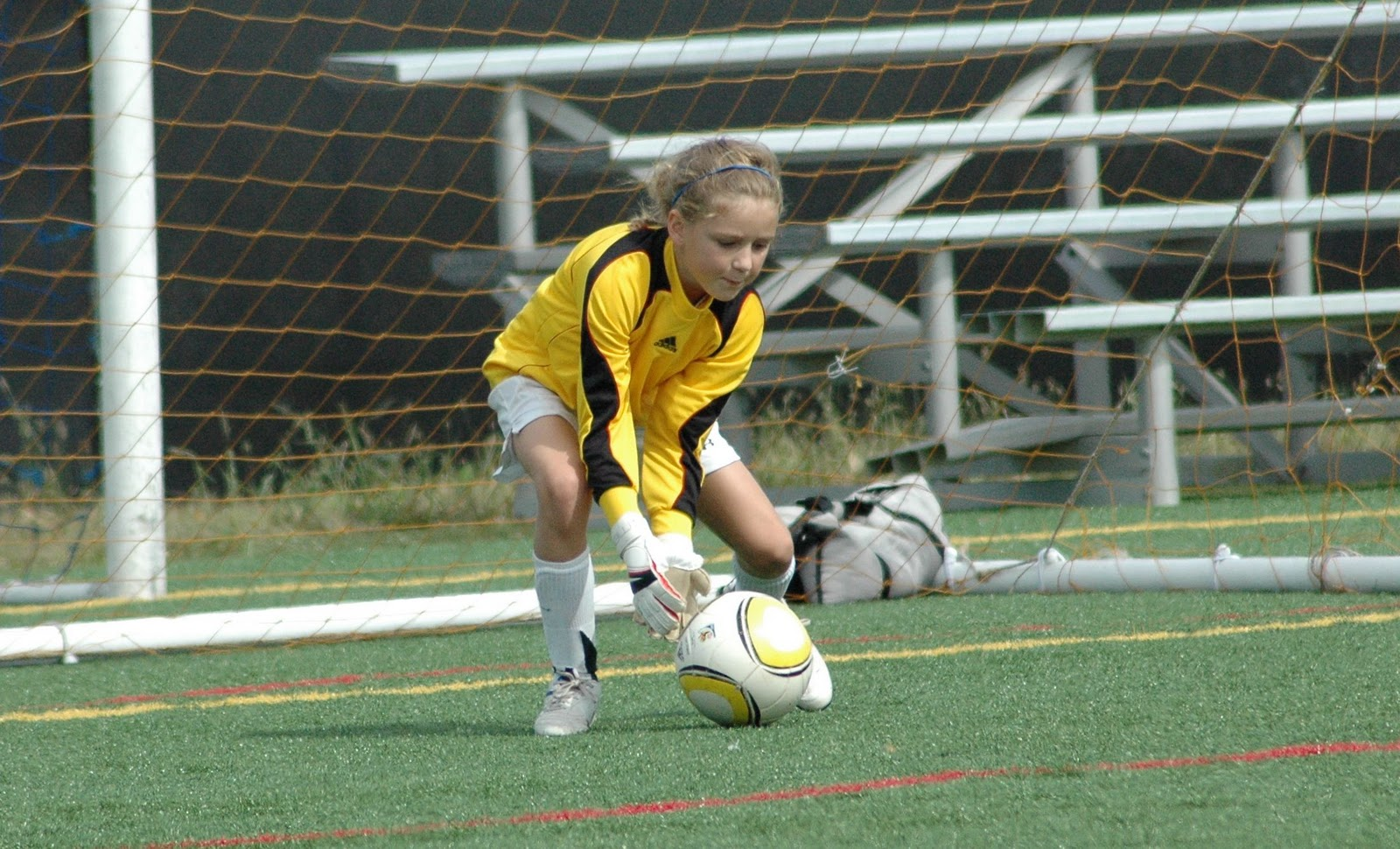 STATS DAD: Youth Soccer: The Pressure of Playing Goalie