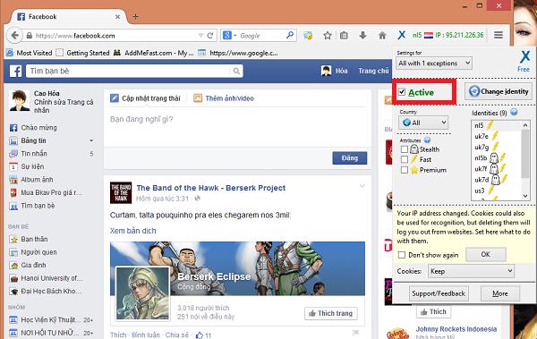 Tổng hợp cách vào Facebook khi bị chặn mới nhất năm 2015