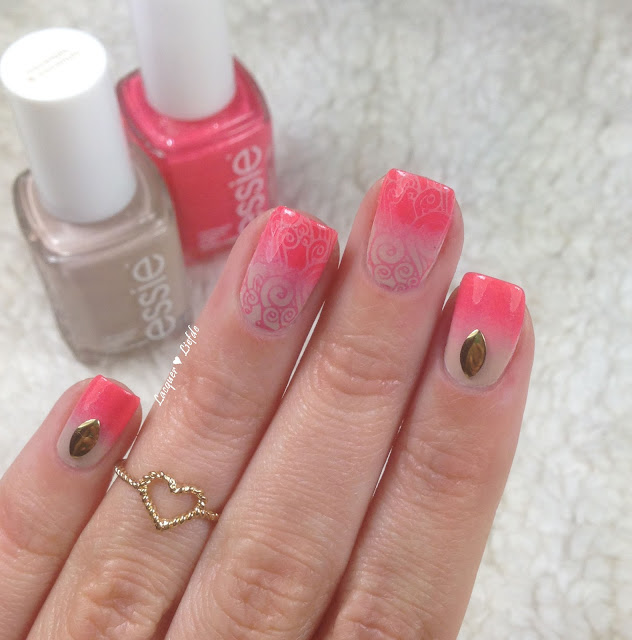 Sunday Funday und Cocktails & Coconuts Gradient mit Stamping