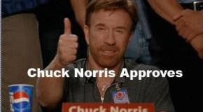 Chuck Norris Aprova Este Blog!!!