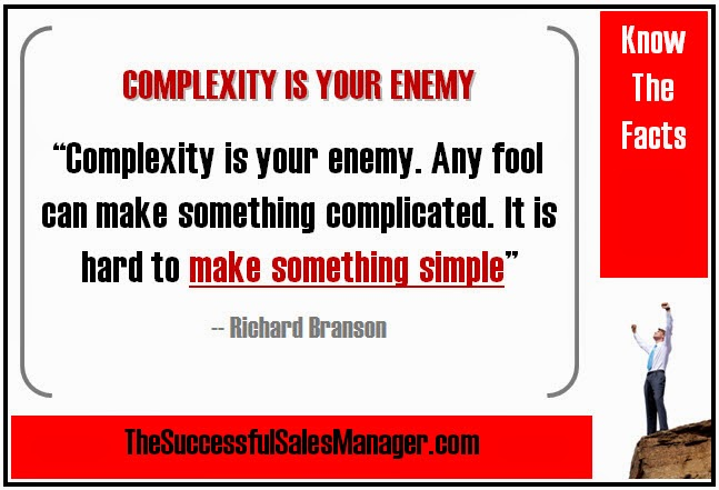 Richard Branson Quote on keeping it simple