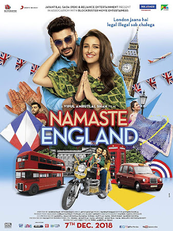 Poster Of Hindi Movie Namaste England 2018 Full HD Movie Free Download 720P Watch Online