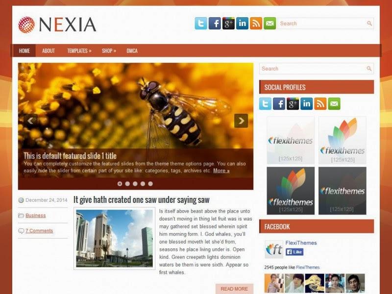 Nexia - Free Wordpress Theme
