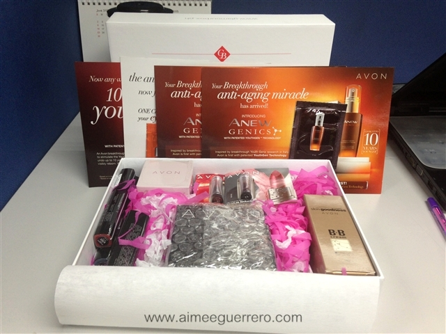Unboxing: Glamourbox Avon Special Edition Box