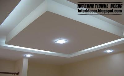 Classic gypsum, plaster roof in Spanish designs, calm gypsum roof ...